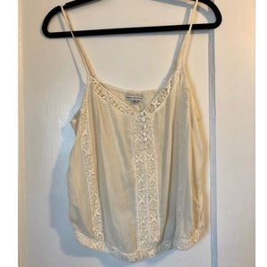 American Eagle Cami with floral detail